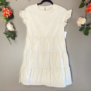 NWT English Factory | Striped babydoll dress